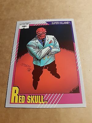 Marvel Universe 1991 Series 2 Card #90 Red Skull
