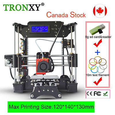 Upgrade High Precision Reprap Prusa i3 XY-100 3D Printer Easy-Assembly DIY Kits
