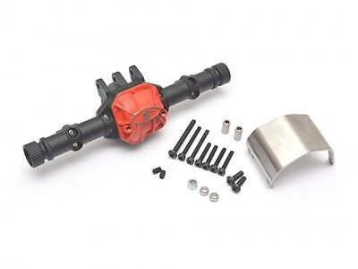 Boom Racing AR44 PHAT Axle Housing W/ ARMOUR Skid Plate for SCX10 II BR955015