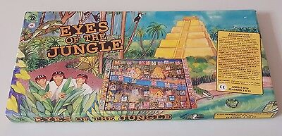 Vintage Eyes Of The Jungle Board Game *100% Complete*