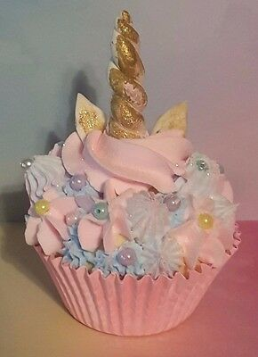 Unicorn Fake Cupcake, Photo Props, Birthday Party Decorations, Displays