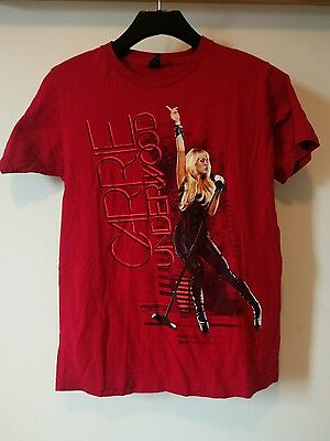 Carrie Underwood Concert Tour T Shirt The Blown Away Tour Size Small