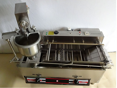 Commercial Automatic GAS&Electric Donut Making Machine Donut Fryer CE Approval