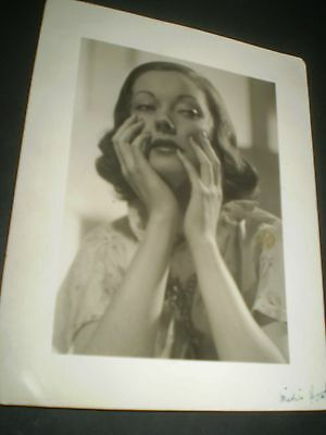 social history 1930's beautiful unknown actress  photograph 6x8'inch