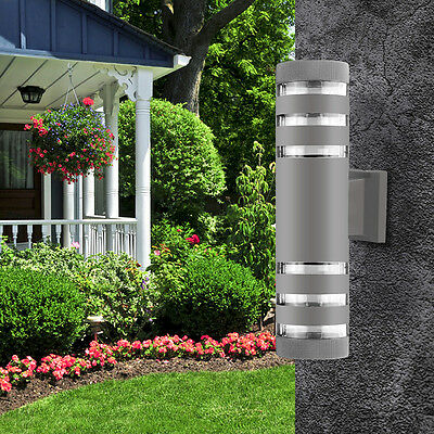 Indoor Outdoor Modern 18W LED Wall Light Up & Down LED Sconce Lighting Lamp E27
