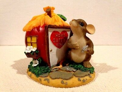 """Fitz & Floyd Charming Tails """"Home Is Where The Heart Is"""" Item : 89/126"""