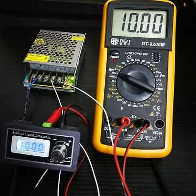 4-20mA Constant Current Signal Source Generator PLC Transmitter Simulation Test