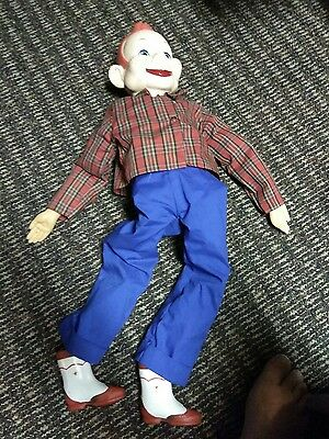 Howdy Doody Ventriloquist Doll  With Pull String - 1972