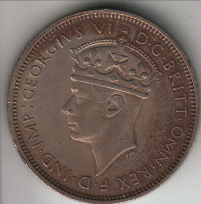 1940 British West Africa (BWA) 3 pence, toned, but better grade, KM-21 (BW40A)