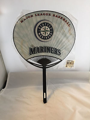 Mlb Baseball Sale - Seattle Mariners Hand Fan - Japan - Never Used In Plastic