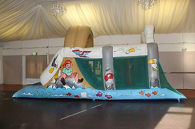 Pirate Fun Run Inflatable Bouncy Castle