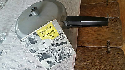 1950's Vintage Prestige Pressure Cooker & Original Recipe Manual