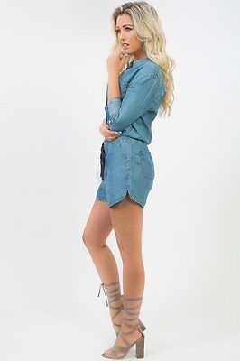 Dreamy Denim Rhea Romper