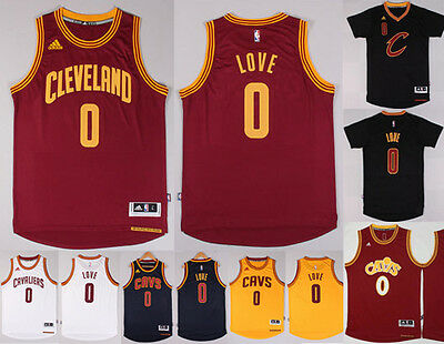#0 Kevin Love Jersey Cleveland Cavaliers NBA S-XXL MESSAGE COLOUR