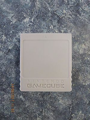 Genuine Nintendo GameCube Official Memory Card - 59 Blocks