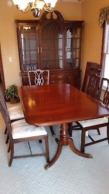 DSold sold solHarden Cherry Dining Room Set-INCREDIBLE CONDITION, PRICE, REDUC