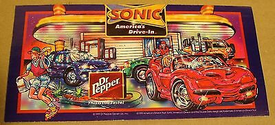 1999 Sonic Dr Pepper Advertisement Booklet