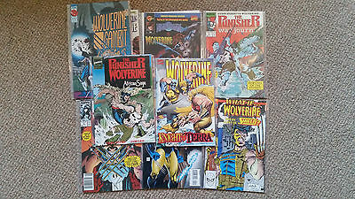 Wolverine comics bundle (10 issues), all VF+/NM