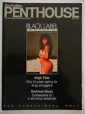 May 1992 Black Label Australian Penthouse Magazine - Subscriber Only Edition