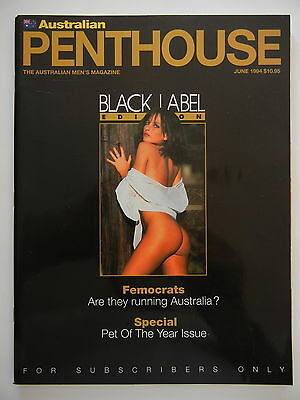 June 1994 Black Label Australian Penthouse Magazine - Subscriber Only Edition
