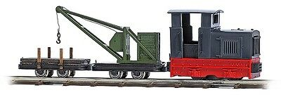 Busch HOF 12118 Light Railway Crane Train # NEW ORIGINAL PACKAGING #