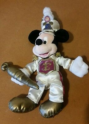 DISNEYLAND 50TH anniversary bandleader Mickey Mouse plush soft mini toy
