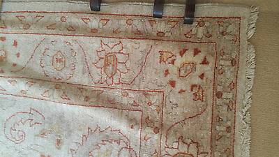 large classic vintage hand knotted Persian rug carpet