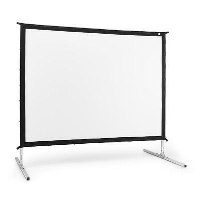 """Frontstage Ps100 Foldable Projection Screen 254 Cm 100"""" Aluminium Trolley Case"""