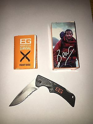 Bear Grylls Pocket Knife, Hunting, Fishing, Camping, Survival Blade
