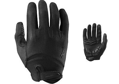 Specialized Body Geometry Gel Long Finger Handschuhe - Gr. L - black/black