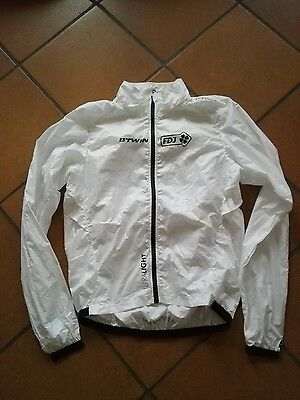 ultralight jacket mantellina wind veste cycling ciclismo team fdj btwin
