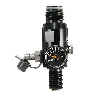 Paintball Regulator 4500psi HPA Air Tank Valve Output 2200psi 5/8''-18UNF Thread