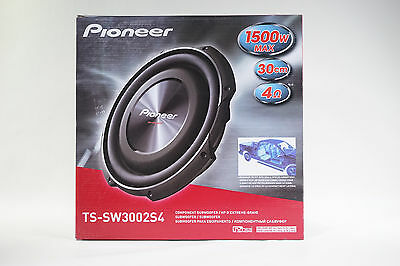 PIONEER TS-SW3002S4  30cm 12″ Shallow-Mount Subwoofer 1500W