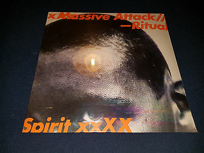"Massive Attack - Ritual Spirit ltd 12"" - Sealed - Feat Roots Manuva / Tricky"