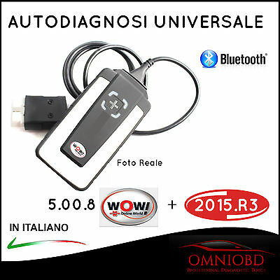 Autodiagnosi Multimarca Bluetooth W.0.w 2016 Auto Diagnosi Obd + Delphi 2015.3
