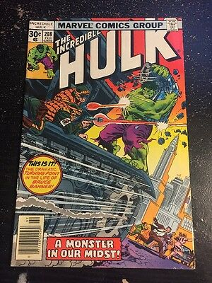 Incredible Hulk#208 Awesome Condition 7.5(1977) Absorbing Man App!!