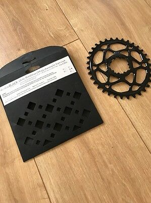 Absolute Black Oval Direct Mount MTB Chainring 34T for SRAM Boost