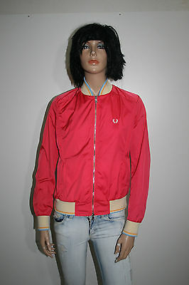Fred Perry Giubbino Giacca Donna Jacket Woman S Casual H1295