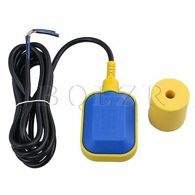 Cable Tank Pump Float Switch Liquid Level Controller Black Yellow
