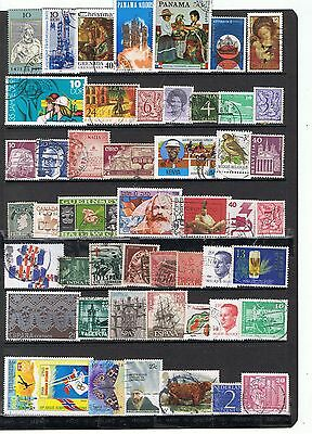 Commonwealth  & Mundiales Usados Worldwide Stamps Used  Lot Dxtch