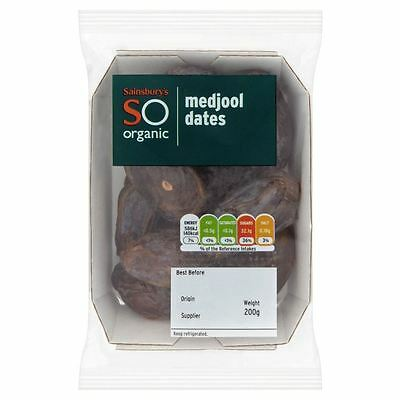 Sainsbury's Medjool Dates, SO Organic 200g