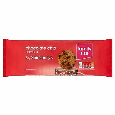 Sainsbury's Chocolate Chip Cookies 400g