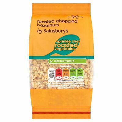 Sainsbury's Roasted Chopped Hazelnuts 100g
