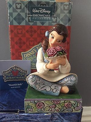 Disney Traditions Beautiful Belle Rare Boxed Beauty Beast