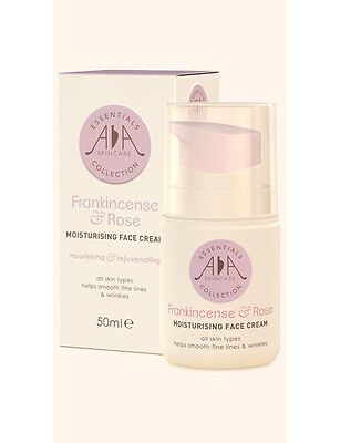 Amphora Aromatics AA Skincare Frankincense & Rose Moisturising Face Cream 50ml