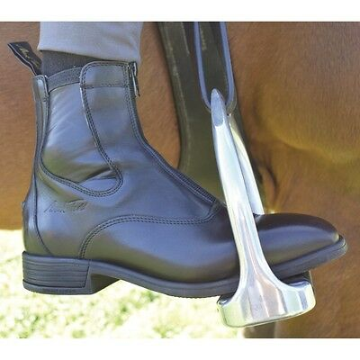 MARK TODD PALMERSTON BLACK boot short zip up front riding boot horse rider