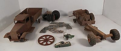 Lot of Antique Misfit Toys for Parts or Repair Restoration Selling as Lot Only!