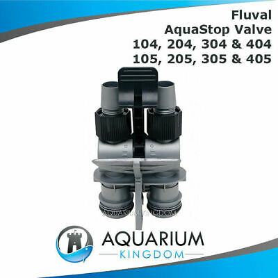 Fluval Aqua Stop With Valve 104 204 304 404 105 205 305 405 Canister Filter Tap