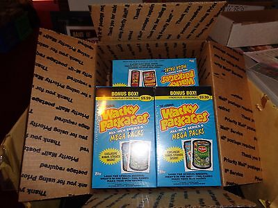 2006 Topps Wacky Packages 5 BOX LOT ANS6 TARGET FACTORY SEALED BONUS BOX B5