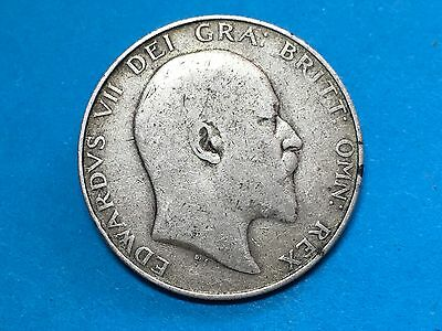 1910 Edward VII Half crown Coin